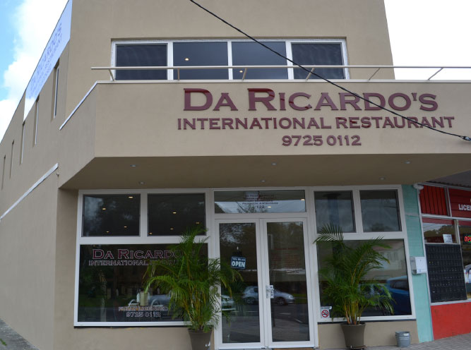 Da Ricardos International Restaurant
